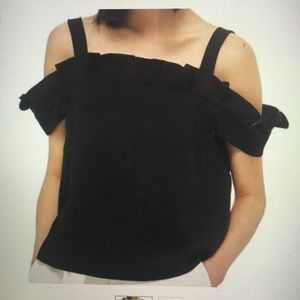 NWT Topshop Off the Shoulder Top. Size 10